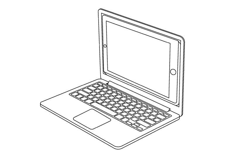Apple iPad MacBook dock patent