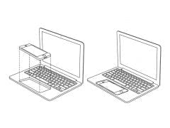 Apple iPhone MacBook dock patent