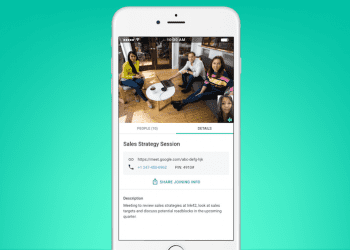 Google Meet by Google Hangouts iOS