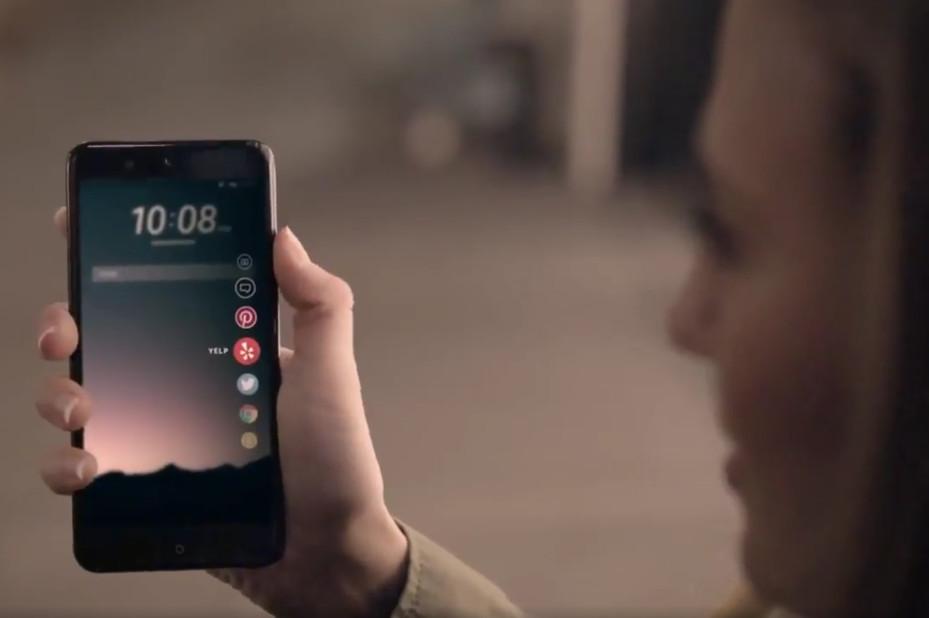 HTC U Edge Sense leak
