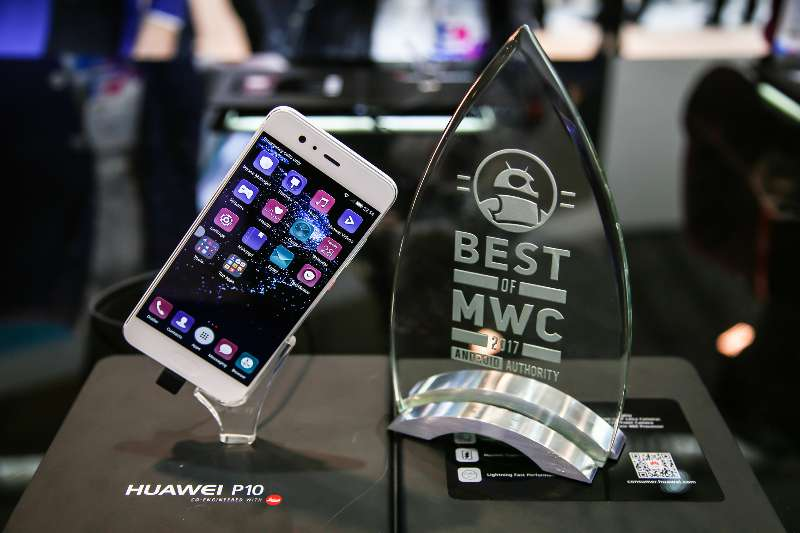 Huawei P10 Android Authority award