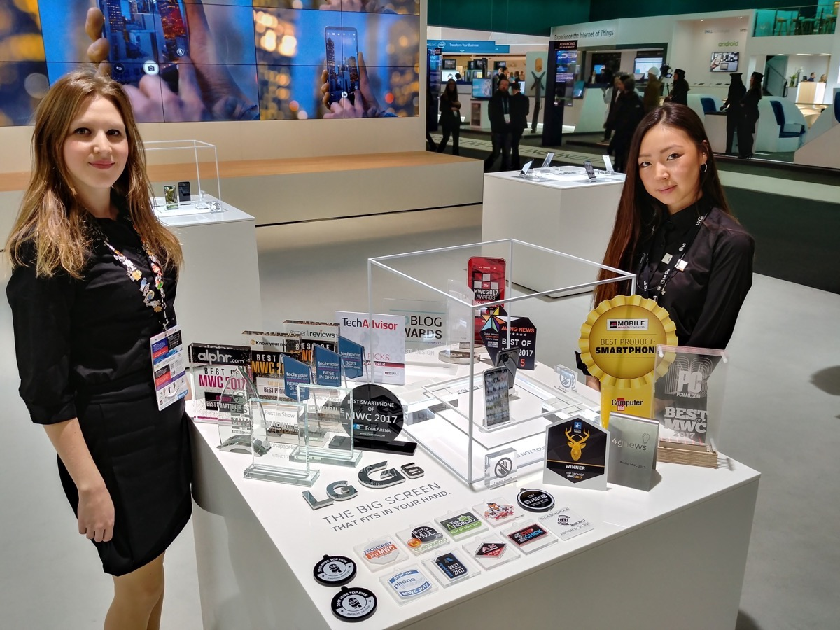 LG G6 Awards at MWC 2017
