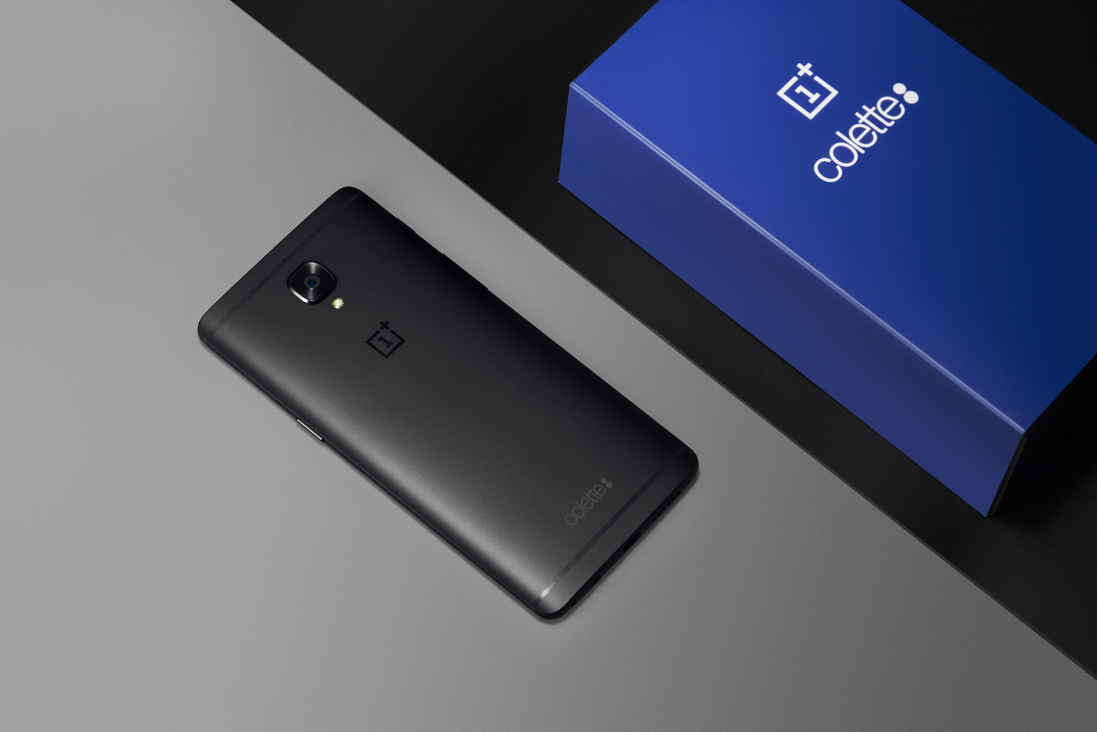 Limited edition Black OnePlus 3T colette box
