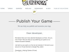 Quizdom Publish Games