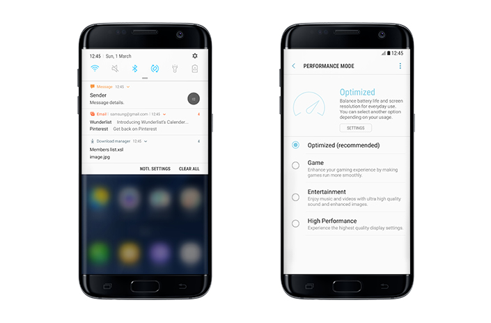 Samsung Galaxy S7 Android 7.0 Nougat update