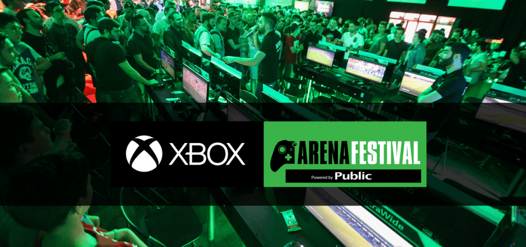 Xbox Arena Festival powered by Public