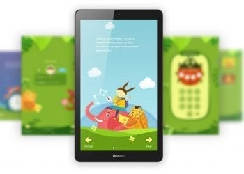 Huawei MediaPad T3 child mode