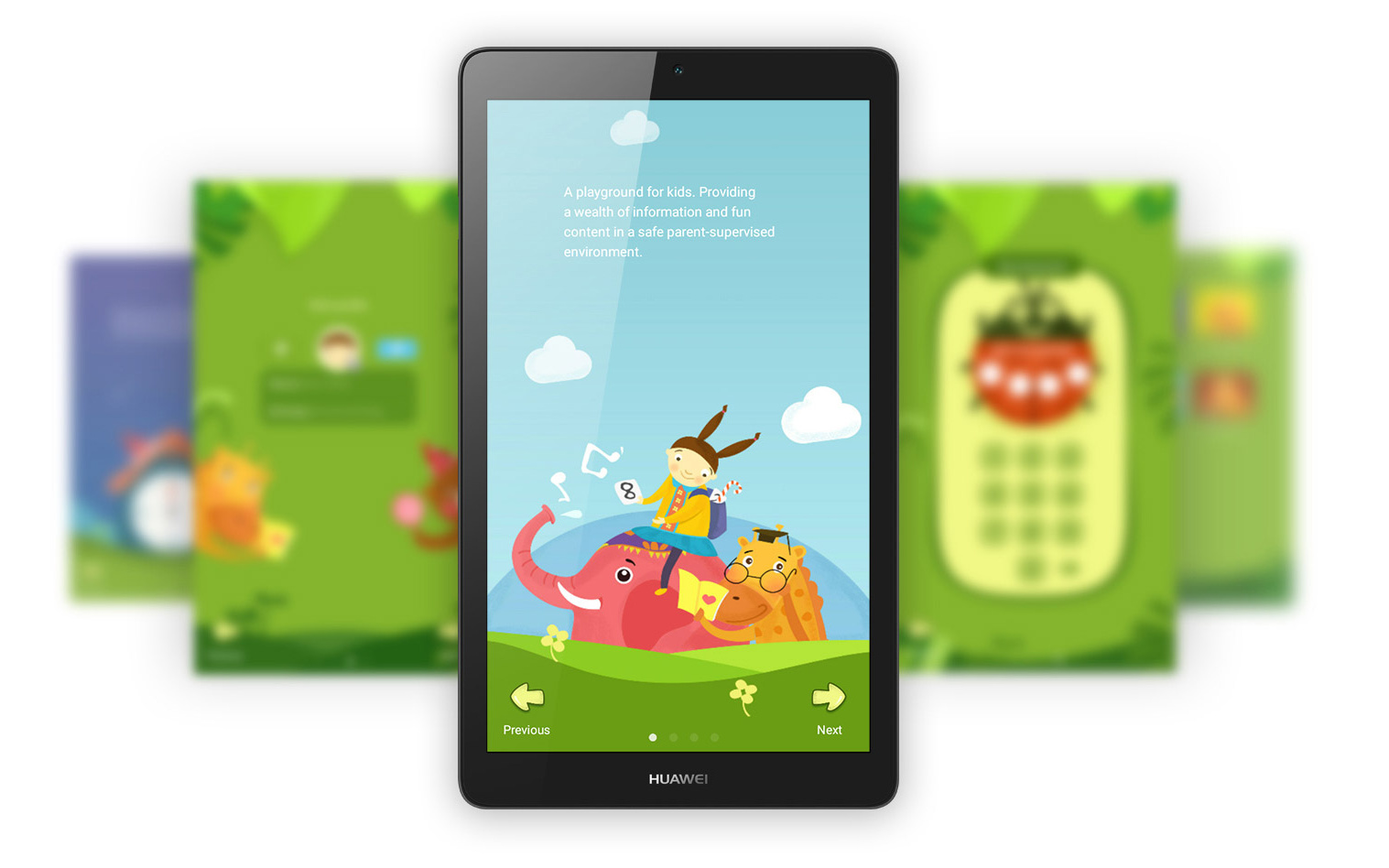 Huawei MediaPad T3 child mode