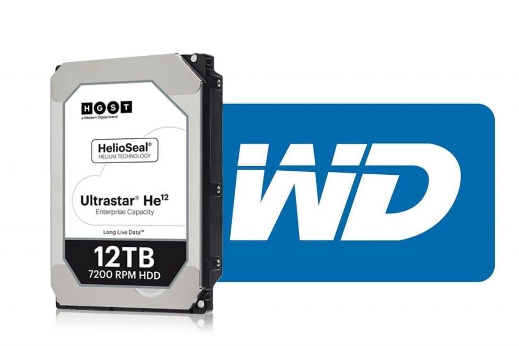 Western Digital Ultrastar He12 12TB HDD