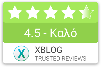 XBLOG.GR Review compact badge 4.5