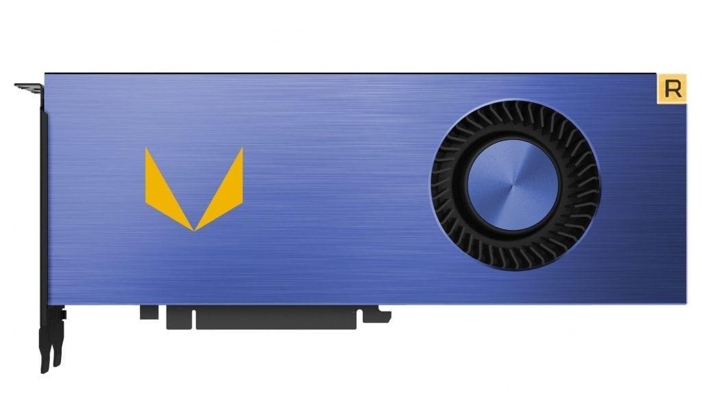 AMD Radeon Vega Frontier Edition blue