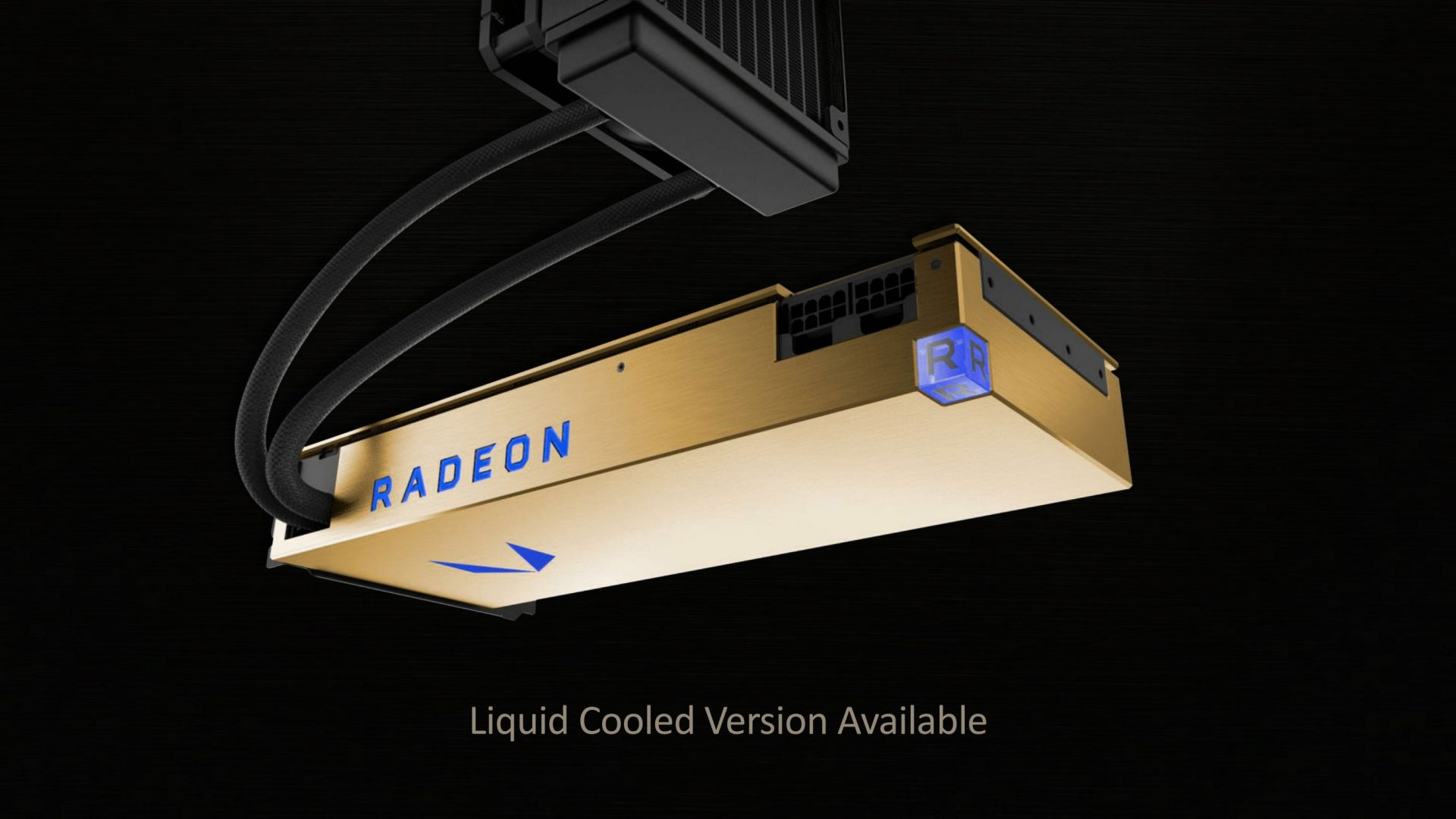 AMD Radeon Vega Frontier Edition gold