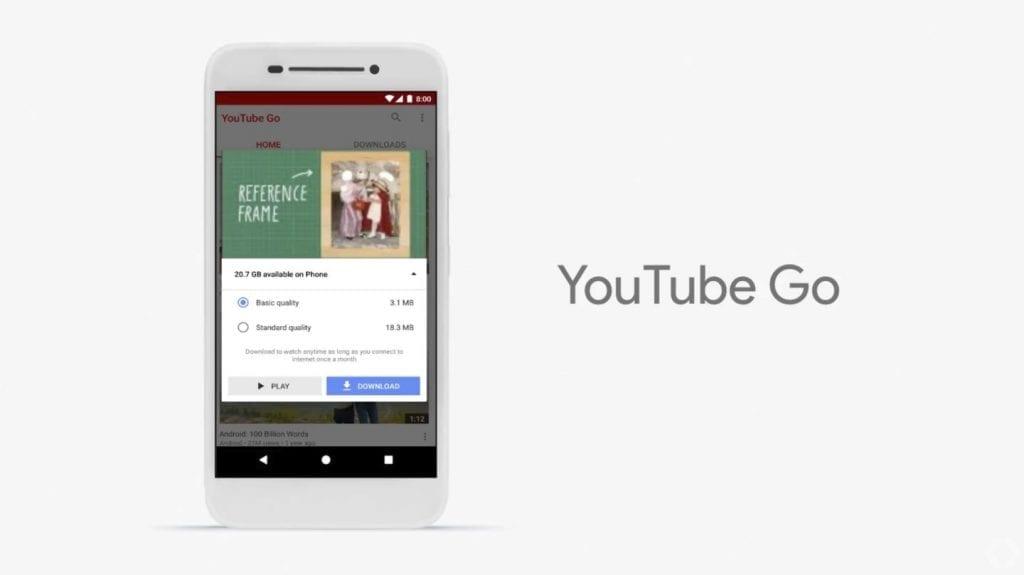 Android Go YouTube Go