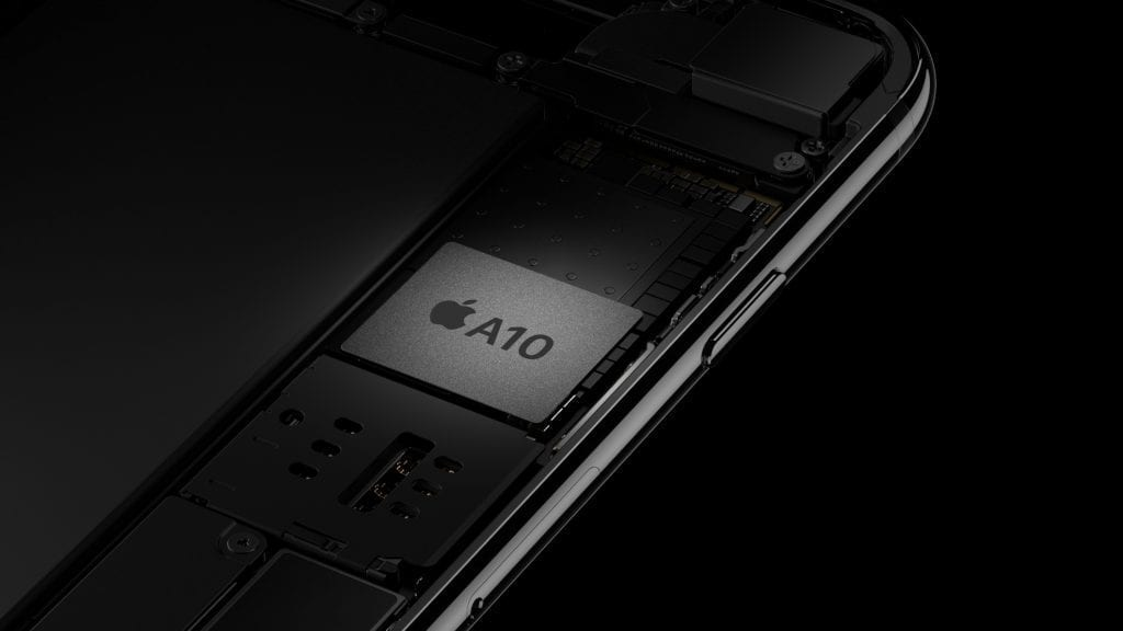 Apple A10 Fusion chipset for iPhone 7