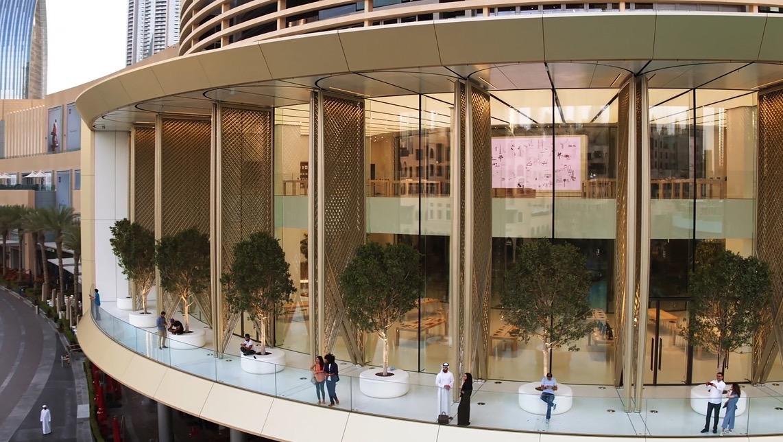 Apple Store Dubai Mall 1