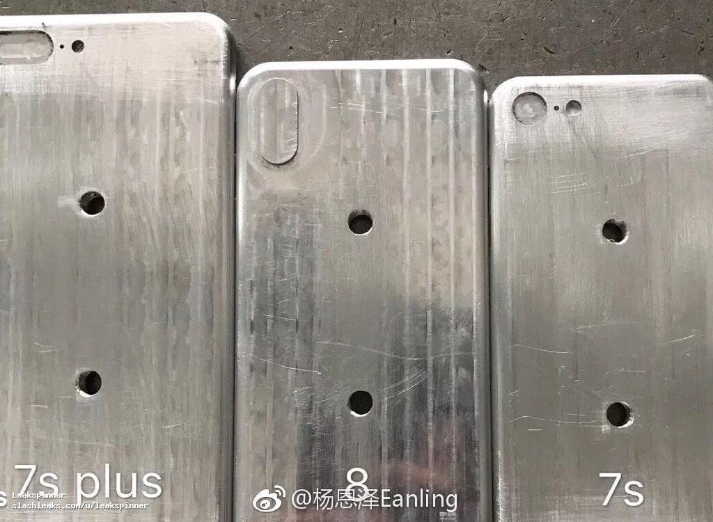 Apple iPhone 8 molds