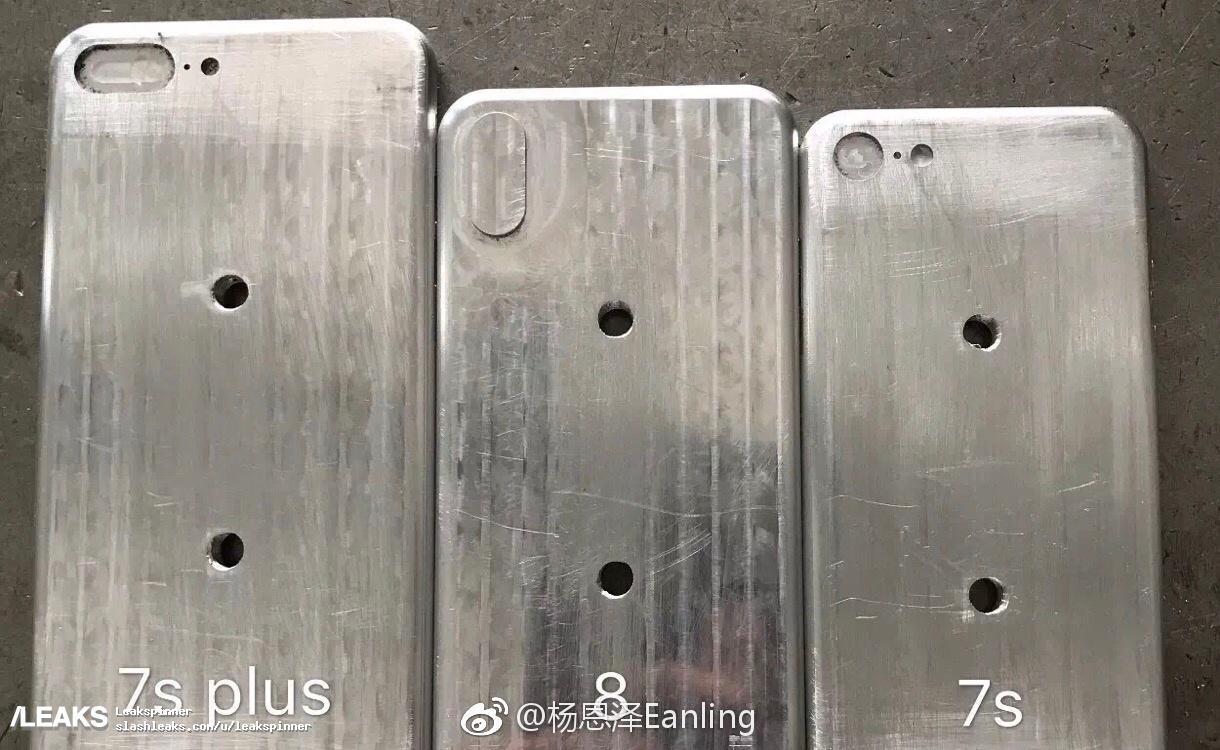 Apple iPhone 8 molds