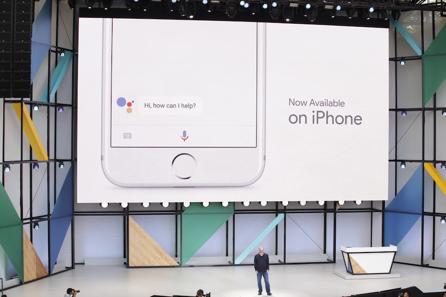 Google Assistant on iOS iPhone