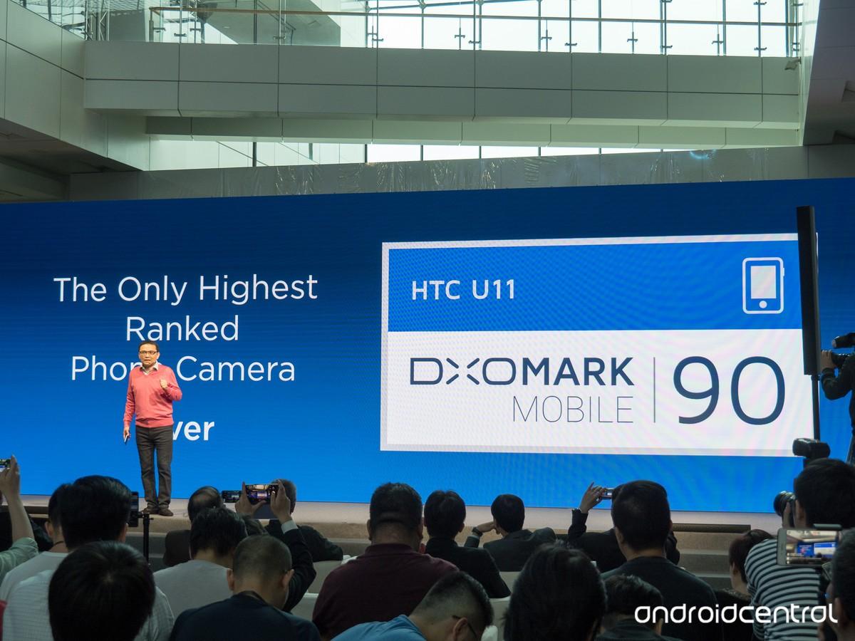 HTC U11 DxOMark Camera