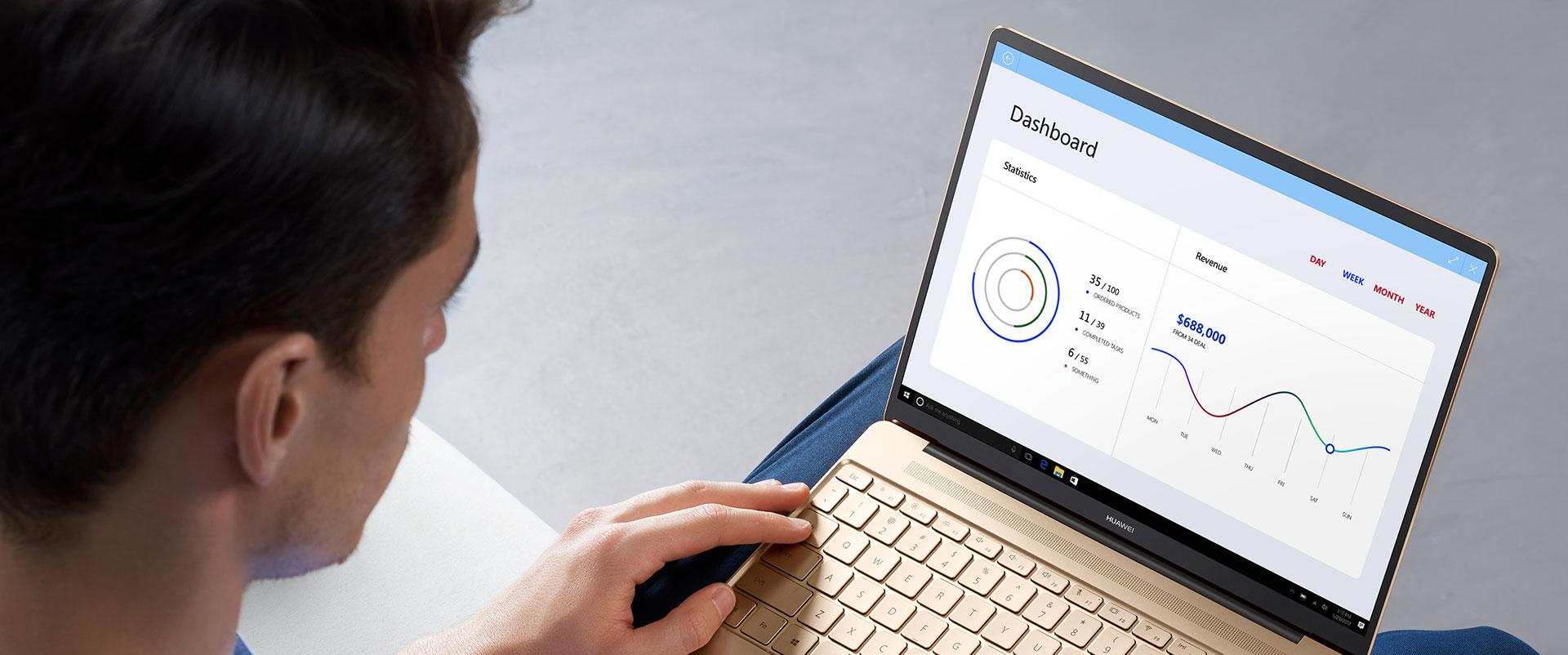 Huawei MateBook X hero