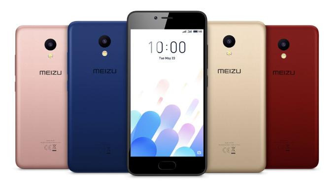 Meizu M5c colors