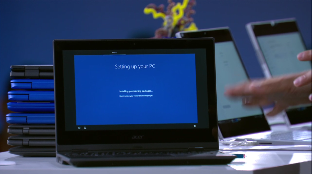 Microsoft Windows 10 S Set up School PCs