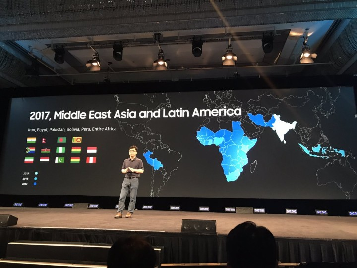 Samsung Tizen smartphone worldwide launch