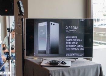 Sony XPERIA XZ Premium Greek launch event