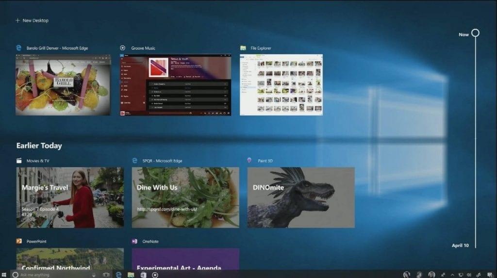 Windows 10 Fall Creators Update Timeline