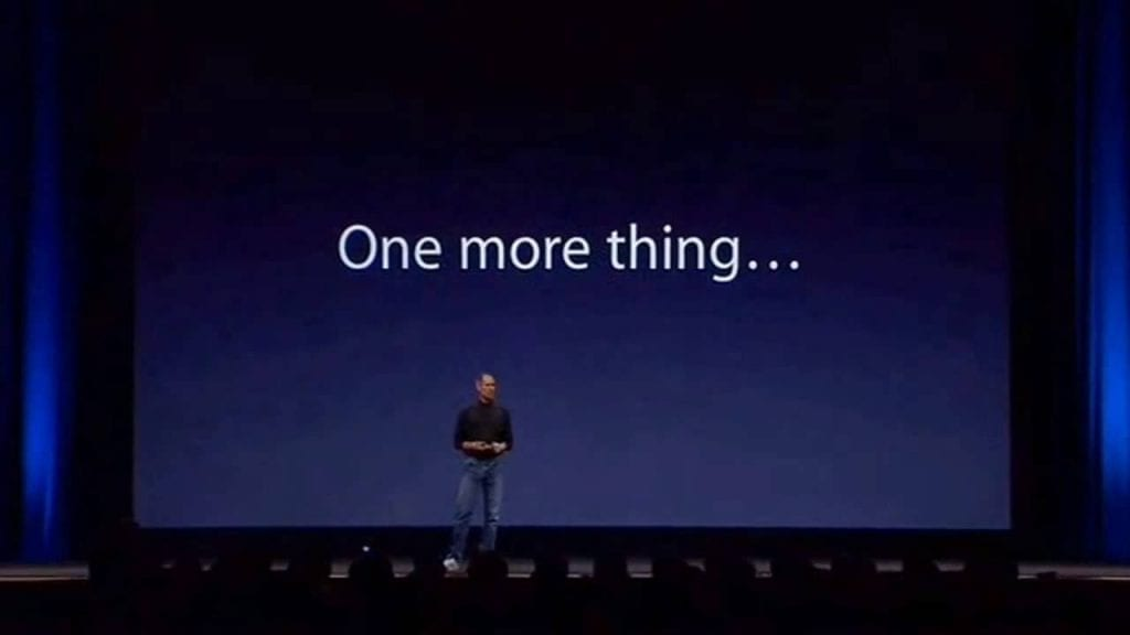 Apple Steve Jobs One More Thing