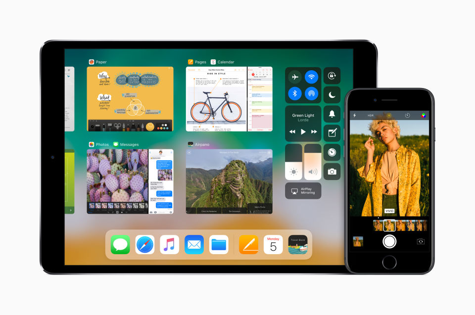 Apple iOS 11 iPhone iPad