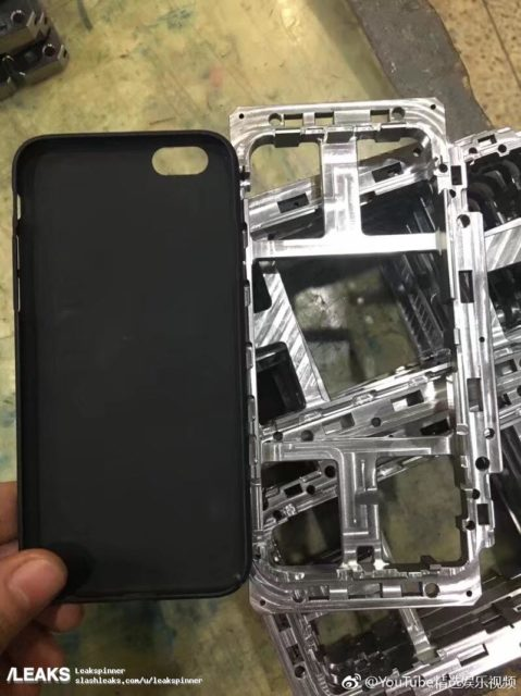 Apple iPhone 8 frame leak vs iPhone 6 case