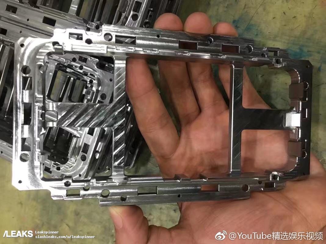 Apple iPhone 8 frame leak