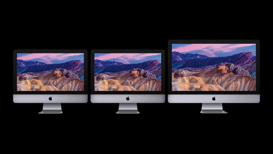 Apple new 2017 iMac family