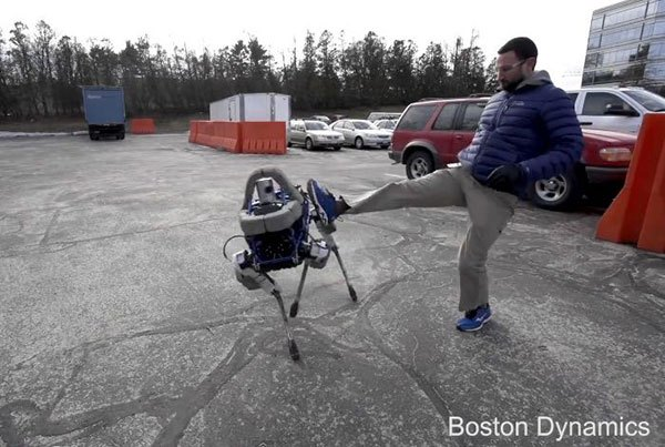 Boston Dynamics Spot dog