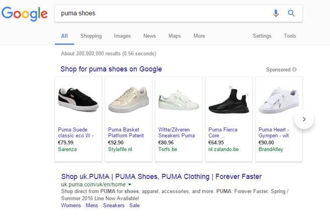 Google Shopping fine anwser