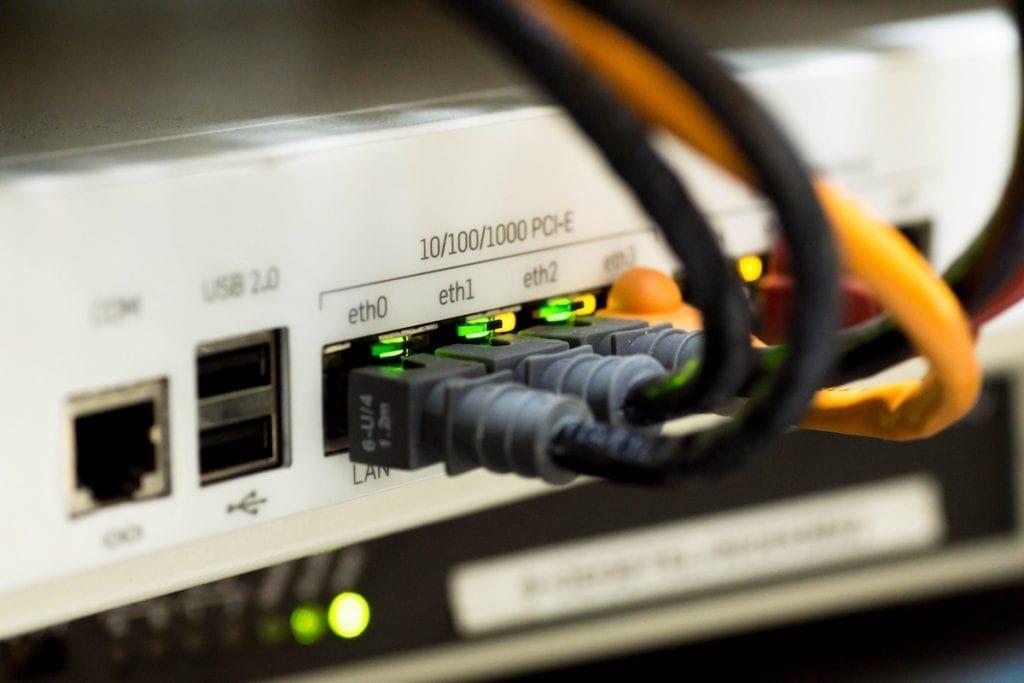 Internet connection cables
