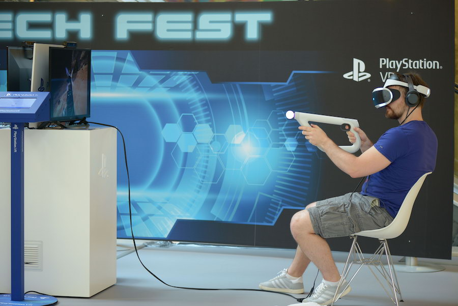Sony PlayStation 4 VR @TechFest Golden Hall
