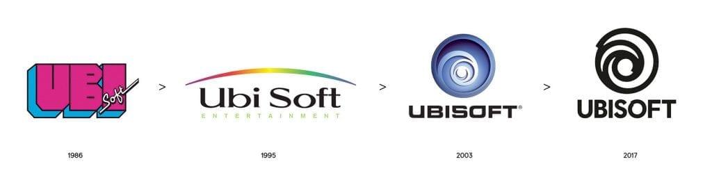 Ubisoft logos history
