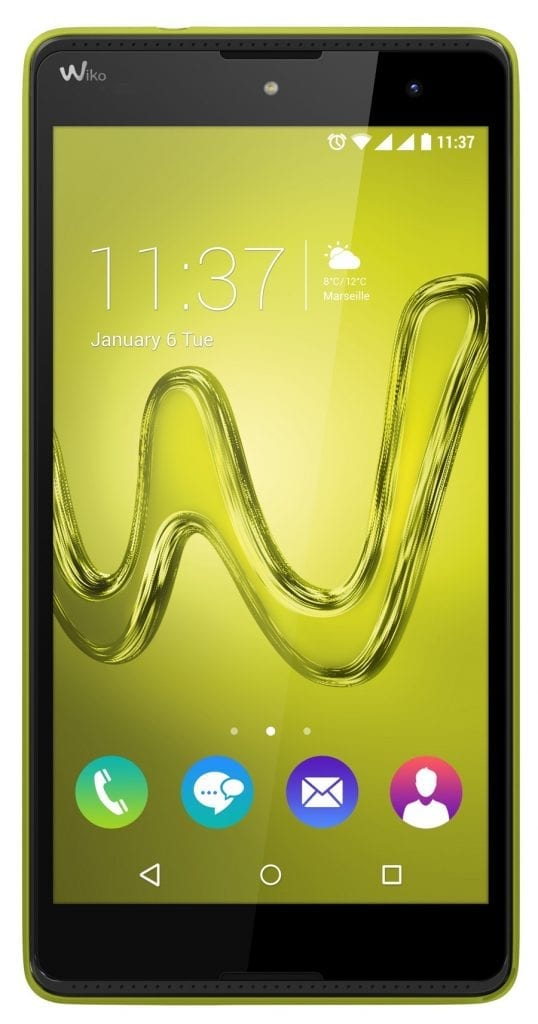 Wiko ROBBY lemon yellow