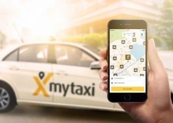 mytaxi on iPhone