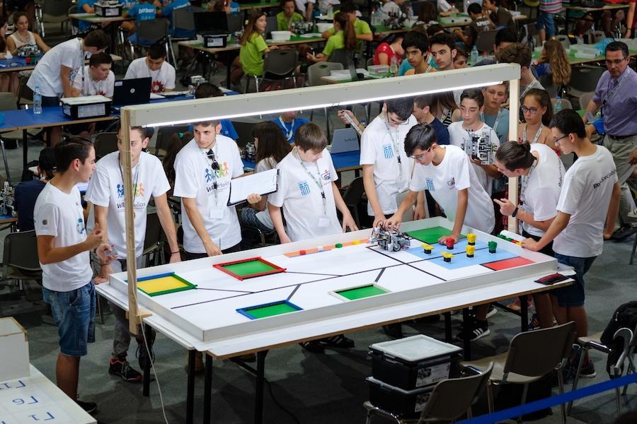 COSMOTE - Ολυμπιάδα Εκπαιδευτικής Ρομποτικής - Ελληνική αποστολή 2017