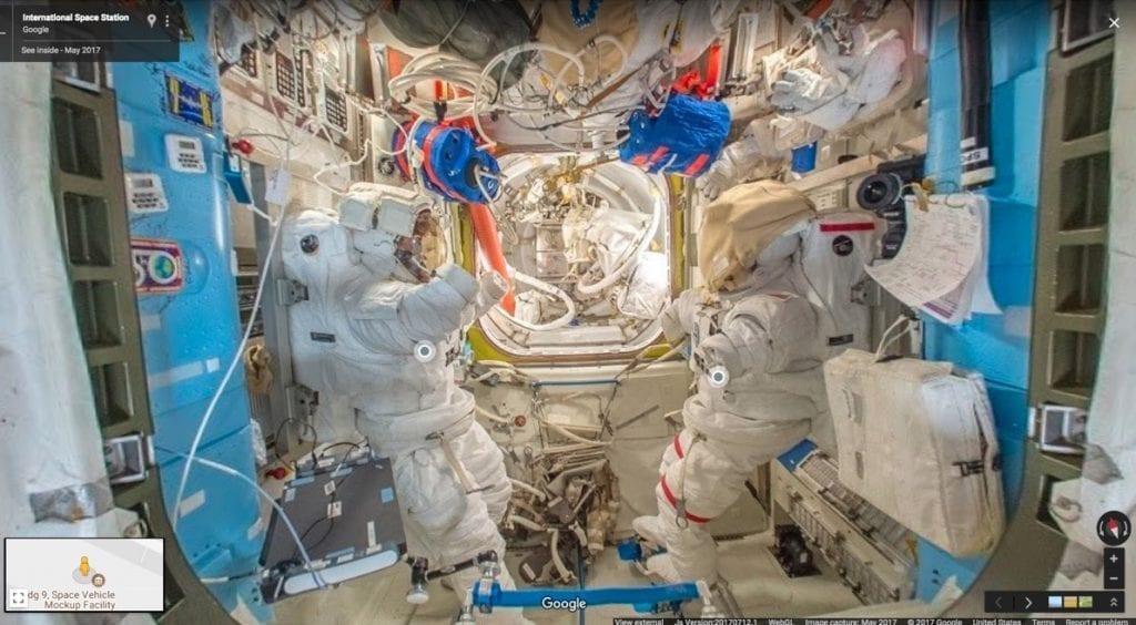 Google Street View - ISS landing pano
