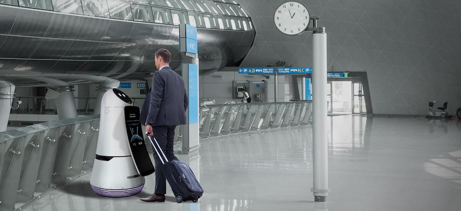 LG Airport Guide Robot 02
