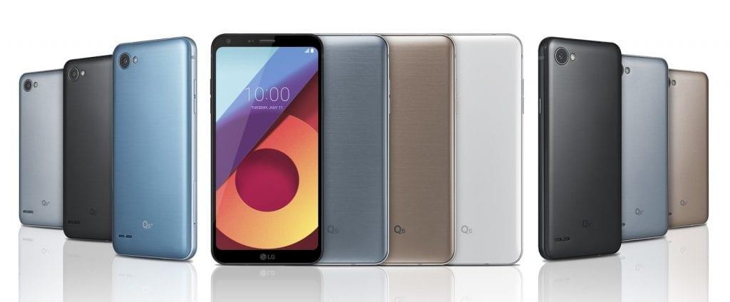 LG Q6 Q6+ Q6α