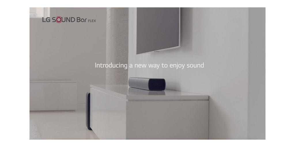 LG SJ7 Flex Sound Bar