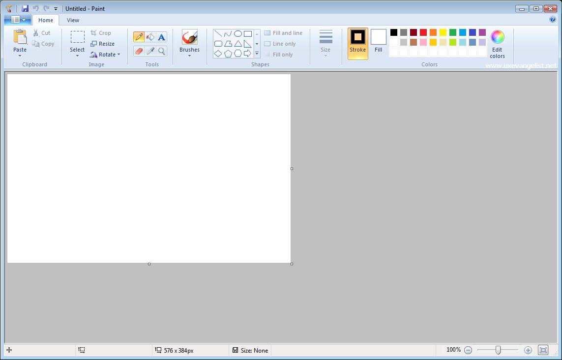 Microsoft Windows MS Paint