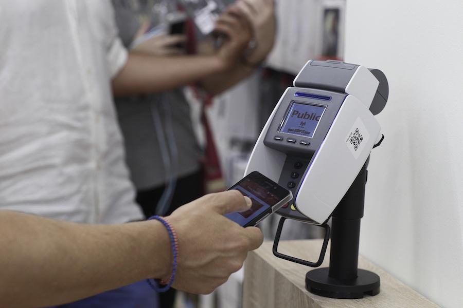 Public mobile payment