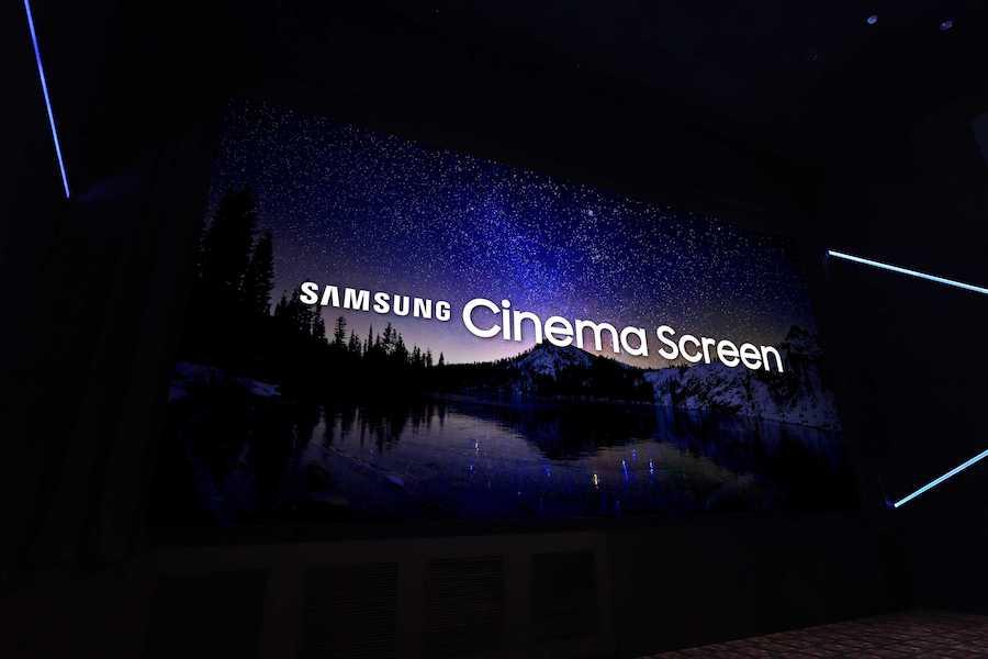 Samsung Cinema LED Screen 1