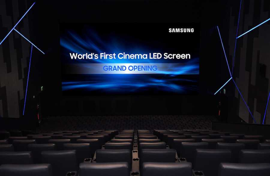 Samsung Cinema LED Screen 2